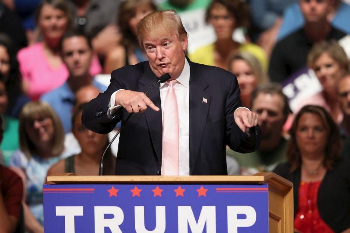 Es seguido del exgobernador de Florida y hermano del expresidente George W. Bush, Jeb Bush con el 15%. Foto:Getty Images. Imagen Por: