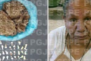 Guardaba diferentes sustancias en su delantal Foto:PGJE – SSPE. Imagen Por: