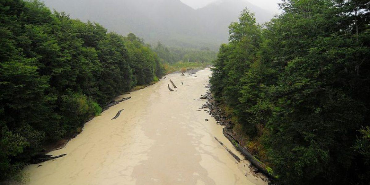 Caudal de río en Osorno alcanzó nivel rojo por lluvias