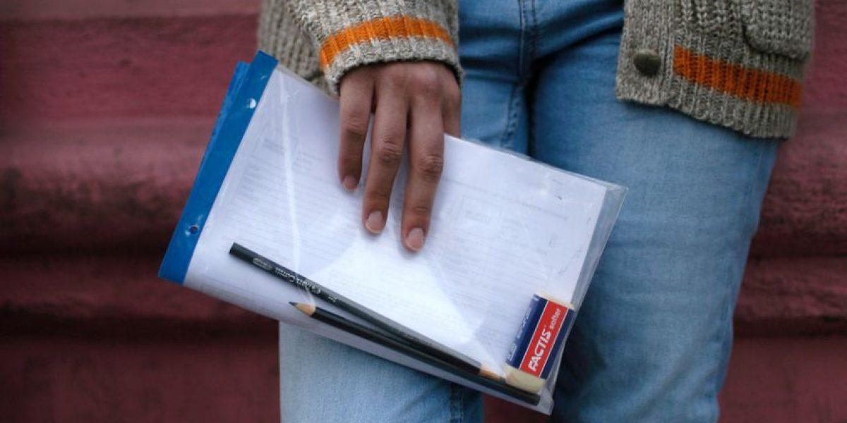 PSU: quedan 4 días para registrarse y 42% de alumnos no se ha inscrito