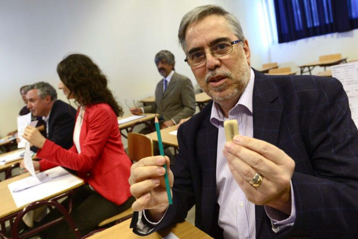 Rector de la Usach, Juan Manuel Zolezzi Foto:Archivo Agencia Uno. Imagen Por:
