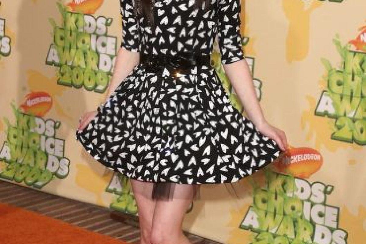 """En 2007, Miranda Cosgrove protagonizó la serie """"iCarly"""" Foto:Getty Images. Imagen Por:"""