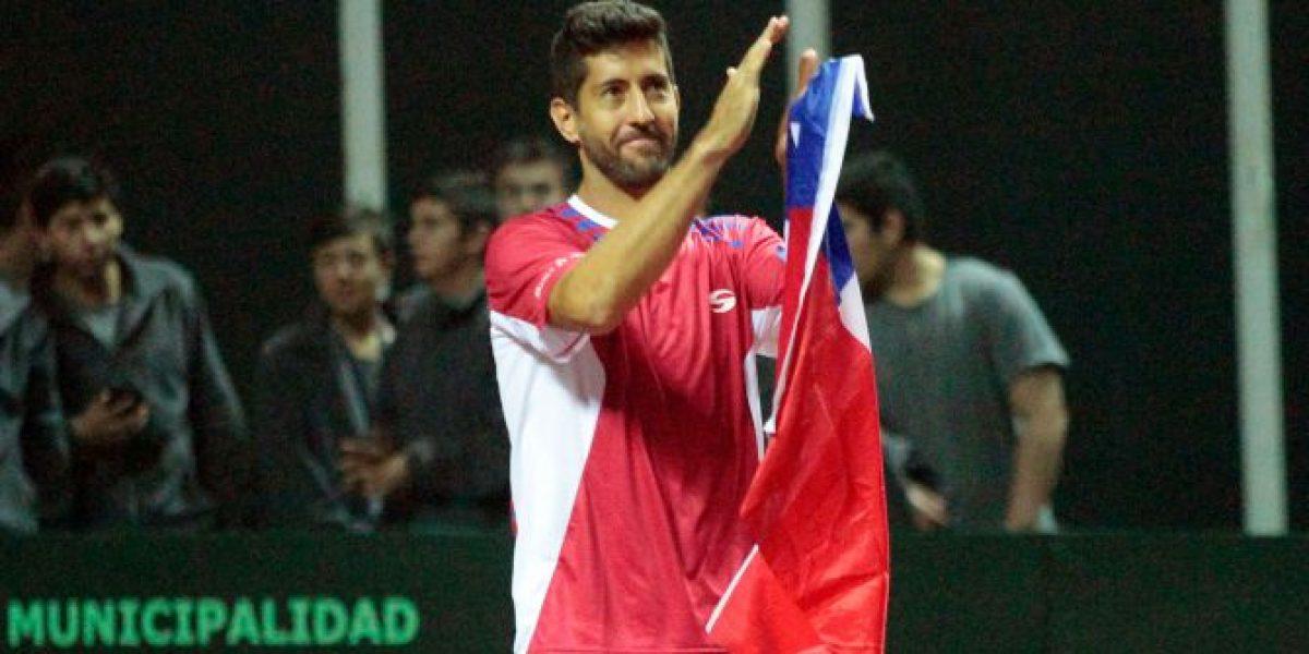 Podlipnik se quedó con el clásico de chilenos tras vencer a Malla en Challenger de Biella