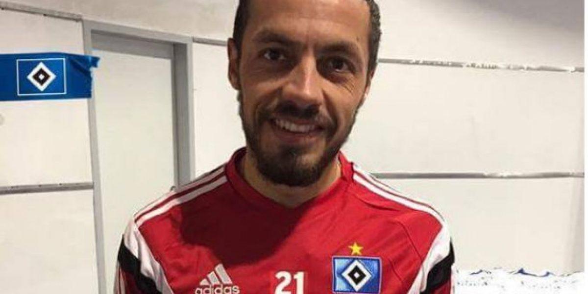 Lo consiguió: Marcelo Díaz se quedó con la camiseta 21 en Hamburgo