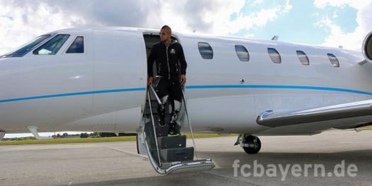 Arturo Vidal tras firmar contrato con el Bayern: