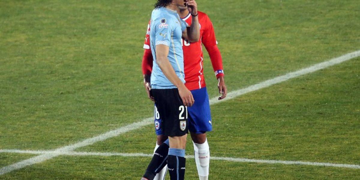 En Uruguay lloran por sanción a Cavani: