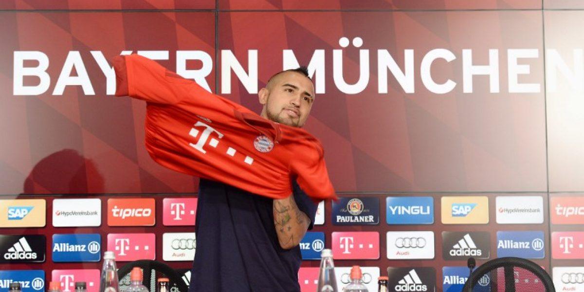 ¿Dónde ver los partidos de Arturo Vidal en Bayern Munich?