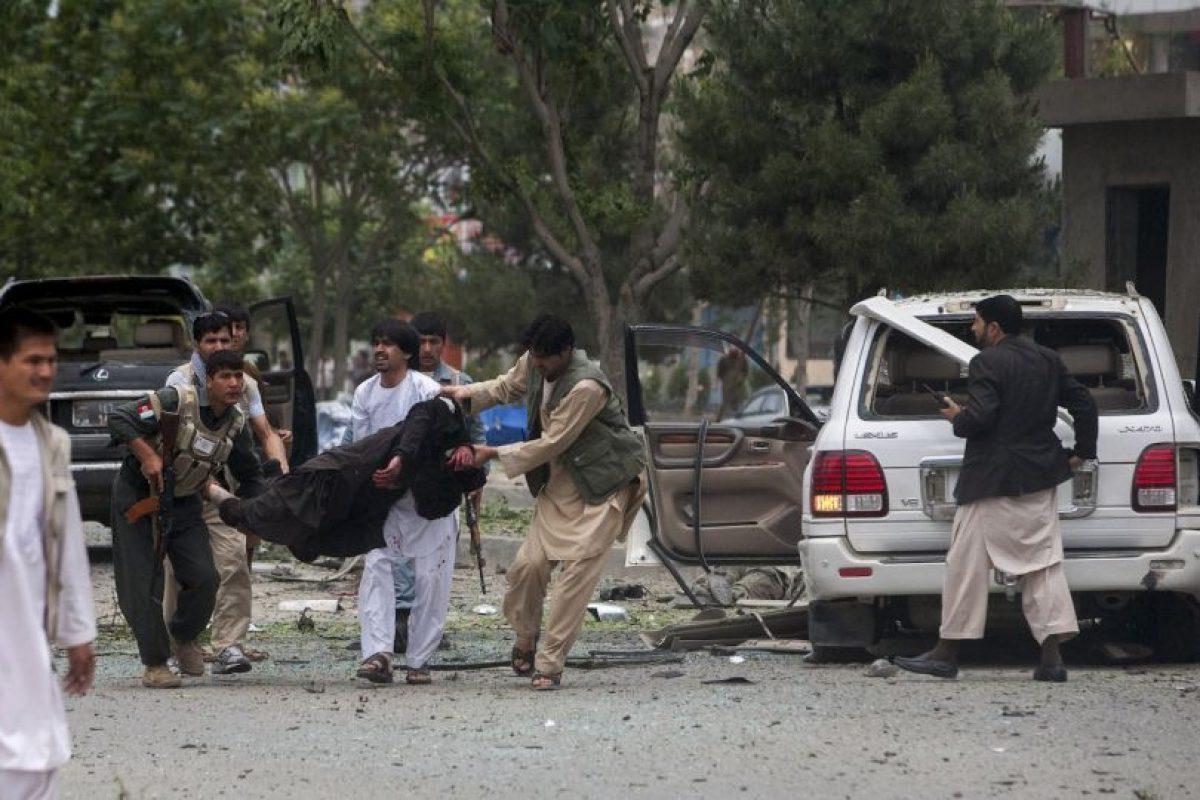 Los hombres que se enfrentaron pertenecian a dos grupos armados distintos. Foto:Getty Images. Imagen Por: