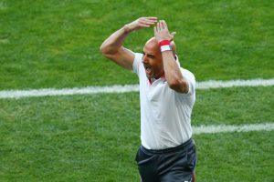 Perdió en penales ante Brasil. A pesar de la eliminación, Sampaoli siguió en el cargo. Foto:Getty Images. Imagen Por: