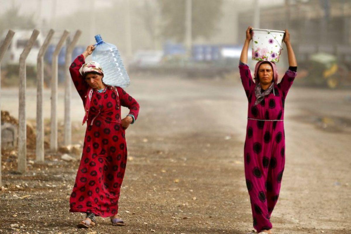5. Las Unidades de Protección Popular (YPG) son una especie de milicia kurda que lucha contra el Estado Islámico. Foto:Getty Images. Imagen Por: