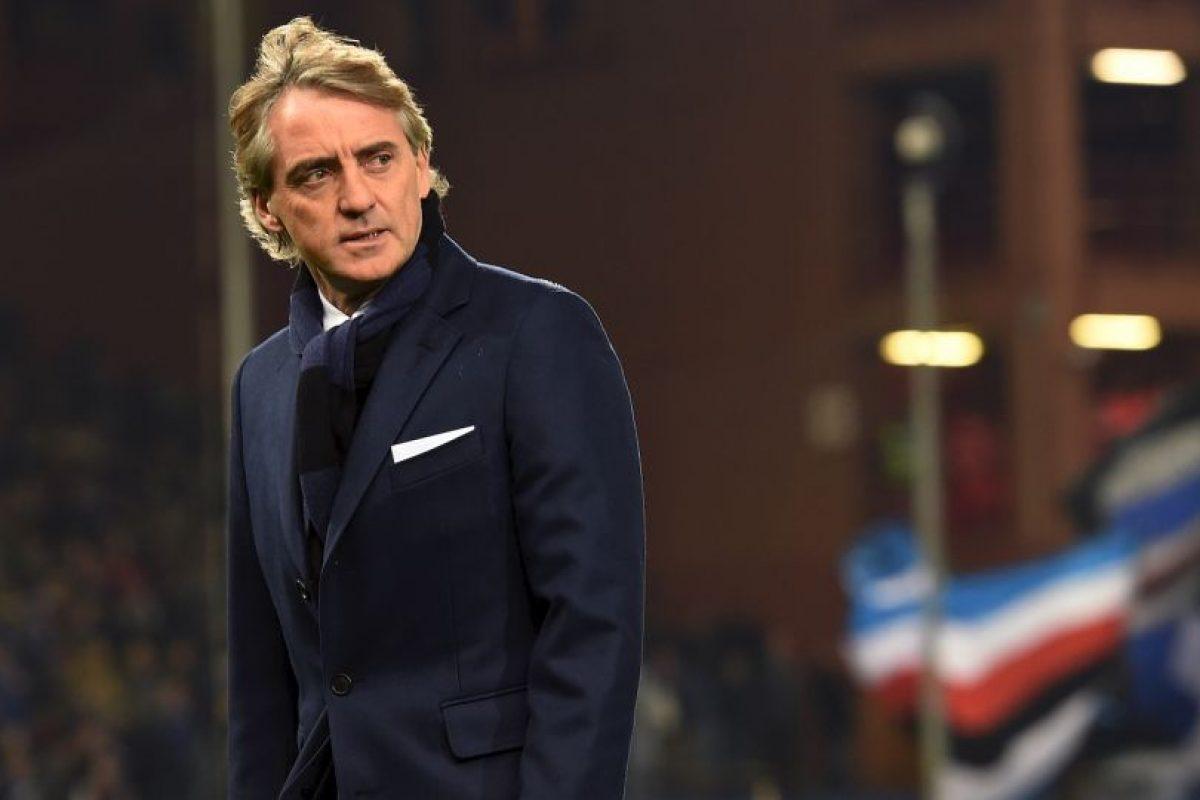 3. Roberto Mancini Foto:Getty Images. Imagen Por: