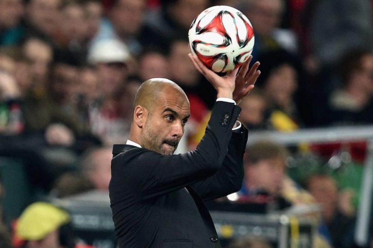 7. Pep Guardiola Foto:Getty Images. Imagen Por: