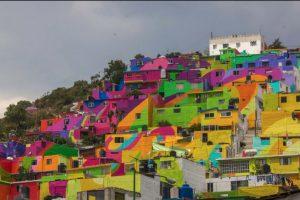El proyecto duró cinco meses. Foto:Vía facebook.com/muralismogermen. Imagen Por: