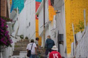 Con esta iniciativa se buscaba una transformación comunitaria así como social. Foto:Vía facebook.com/muralismogermen. Imagen Por: