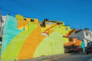 Se pintaron 20 mil metros cuadrados de fachadas de 209 casa. Foto:Vía facebook.com/muralismogermen. Imagen Por: