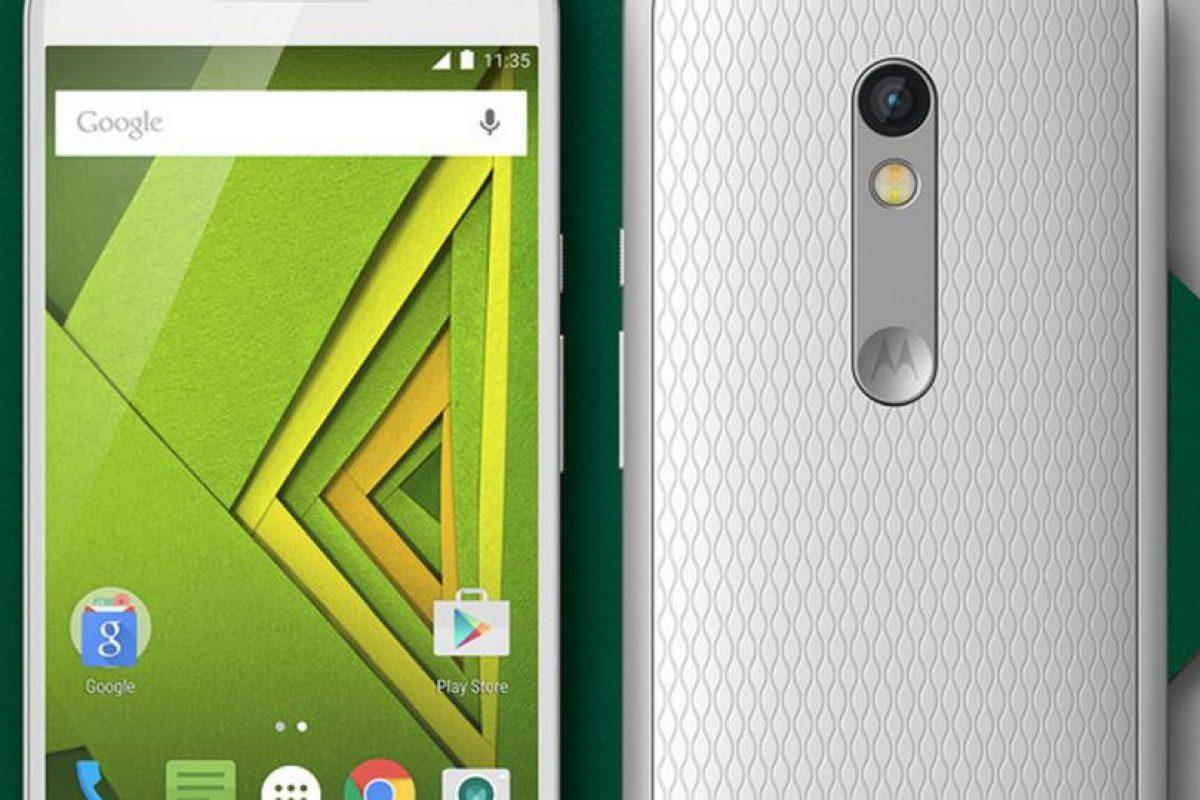 Pantalla: 5,5 pulgadas fullHD / Procesador: Snapdragon 615 Foto:Motorola. Imagen Por: