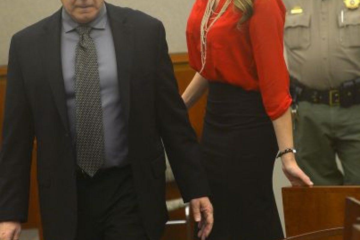 Fue detenida en 2013 por haber tenido relaciones sexuales con tres menores de edad Foto:AP. Imagen Por:
