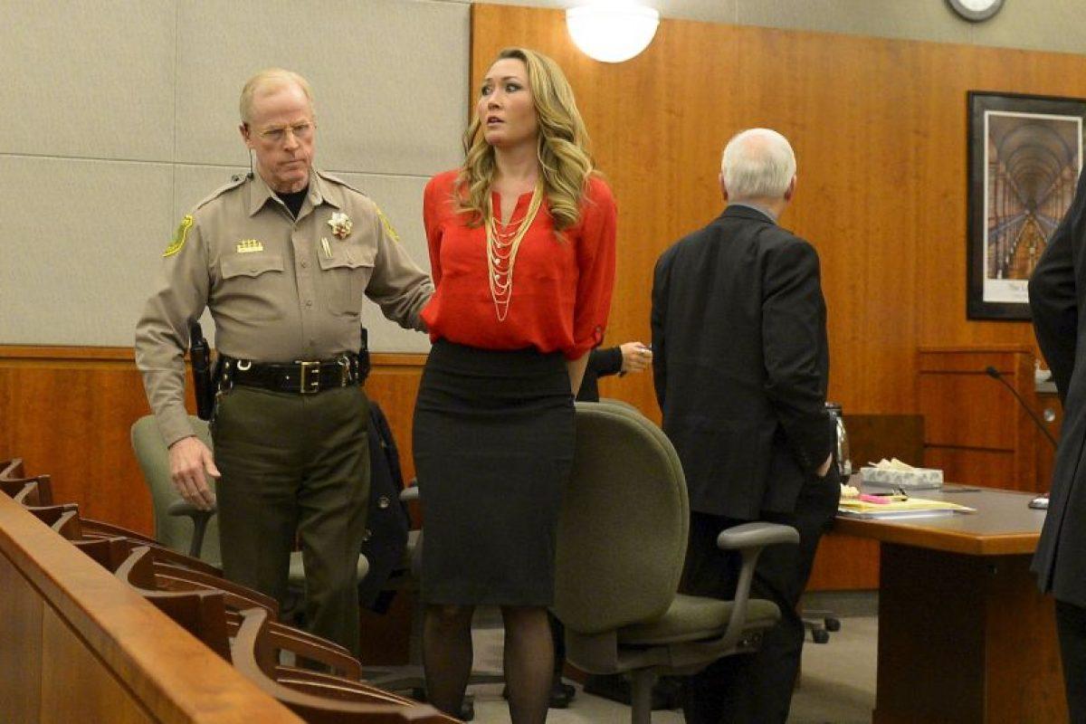Fue acusada de 11 delitos, de los que se declaró culpable Foto:AP. Imagen Por: