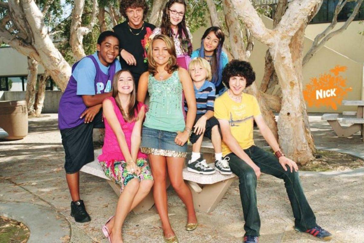 """En 2005, Jamie Lynn Spears, la hermanita de la cantante Britney Spears, realizó su gran salto a la fama al protagonizar la serie de Nickelodeon, """"Zoey 101"""". Foto:Nickelodeon. Imagen Por:"""