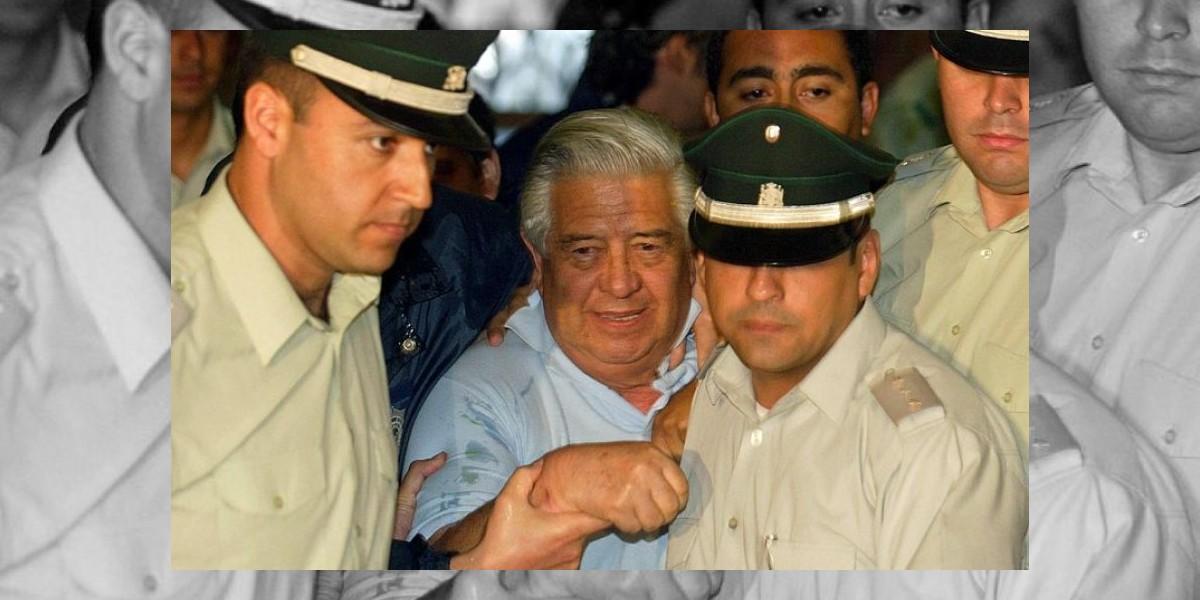 Manuel Contreras internado grave en el Hospital Militar
