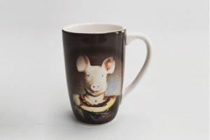 Taza de café pig. Imagen Por: