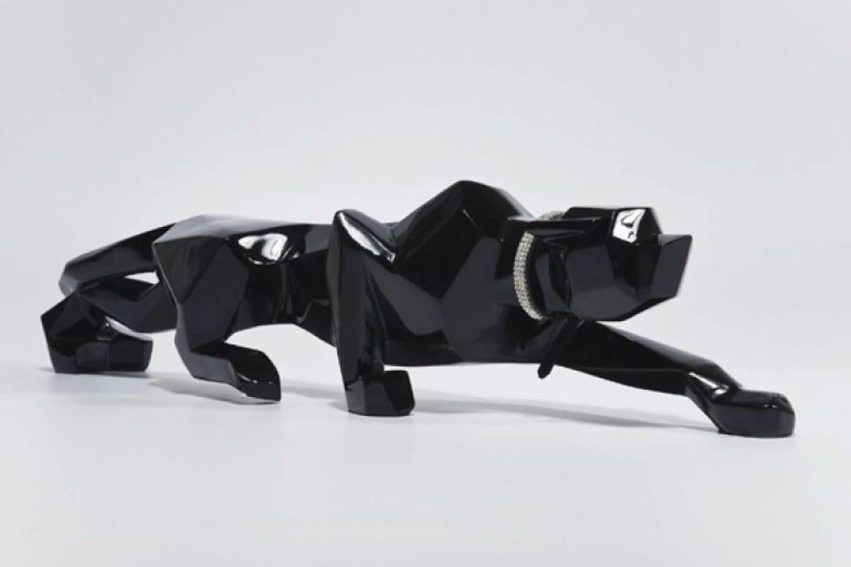 Pantera negra para decoración. Imagen Por:
