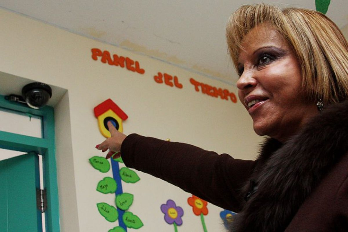 Vicky Barahona, alcaldesa de Renca Foto:Agencia Uno. Imagen Por: