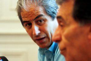 Mario Aguilar, prosecretario del Colegio de Profesores Foto:Agencia Uno. Imagen Por: