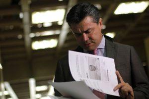 Raúl Meza, abogado de Miguel Krassnoff Foto:Agencia Uno. Imagen Por: