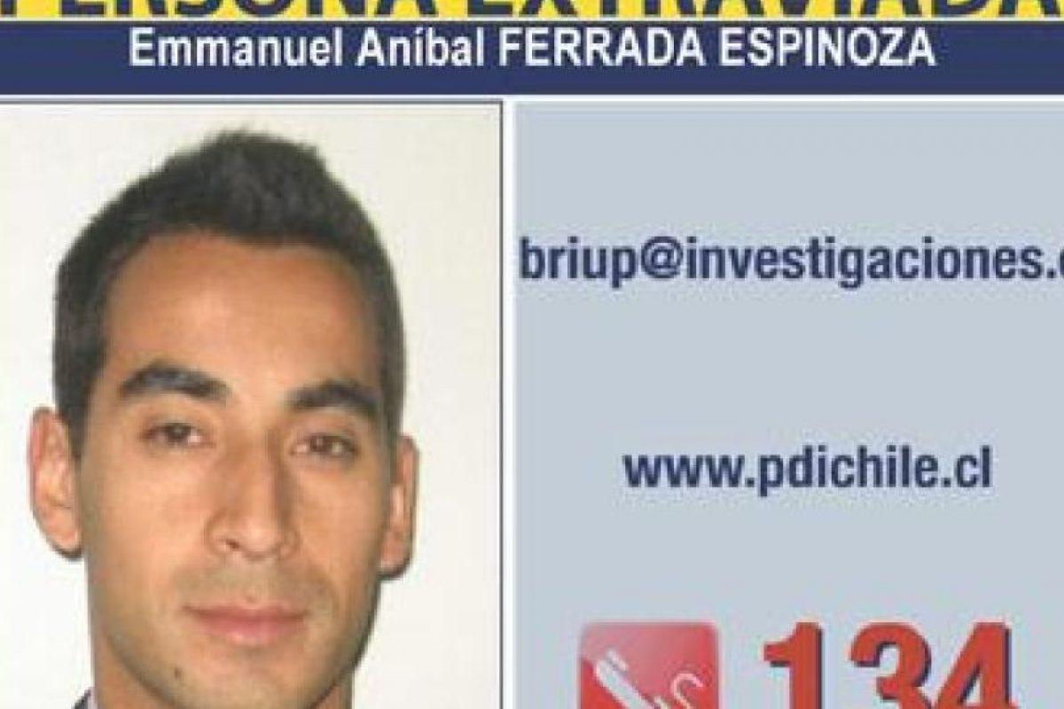 El funcionario desaparecido Foto:Gentileza, PDI. Imagen Por: