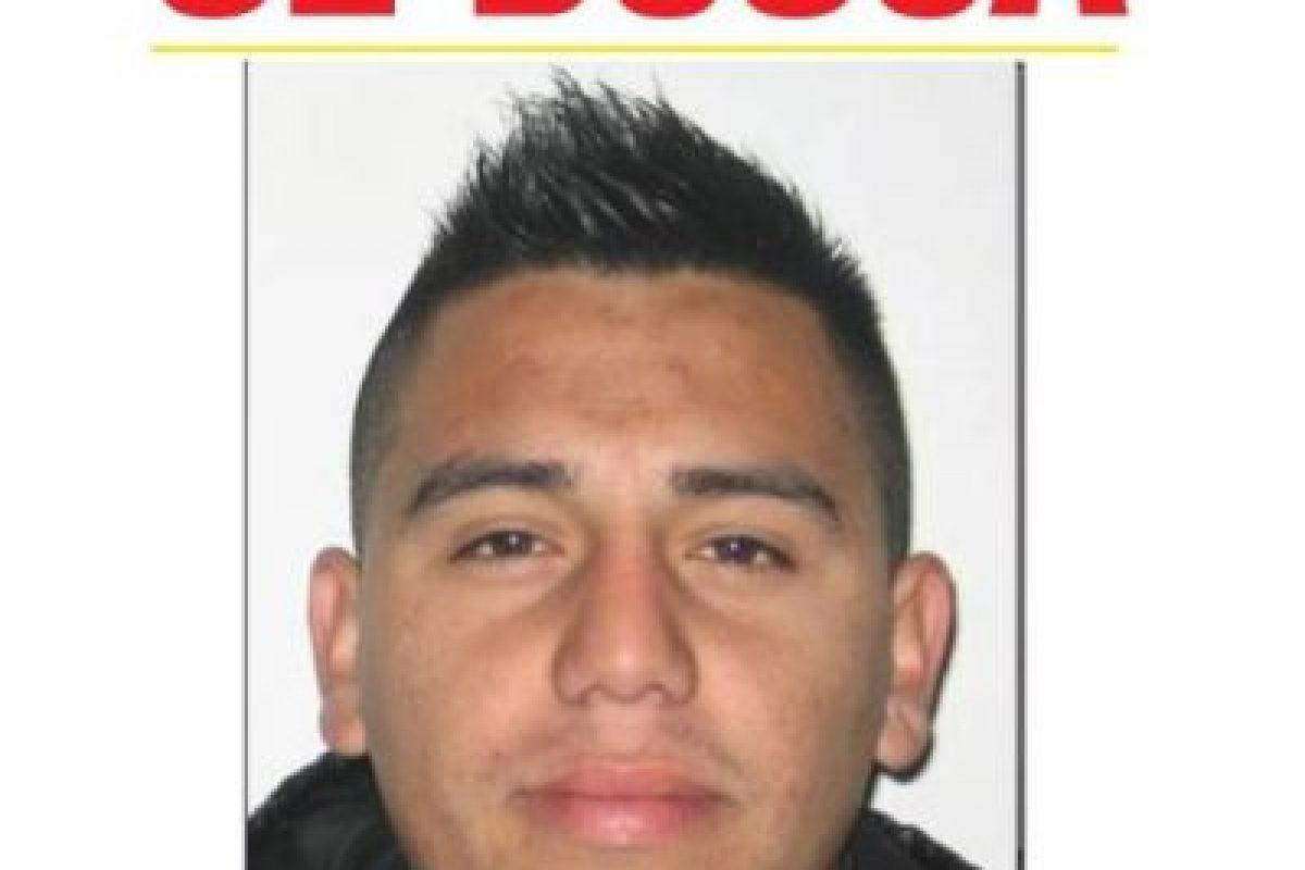 """""""El Alexis Sánchez"""", cuyo nombre real es Daniel Jesús Brizuela González, también ha sido apresado en varias ocasiones, siendo un lanza característico en Providencia. Foto:PDI. Imagen Por:"""