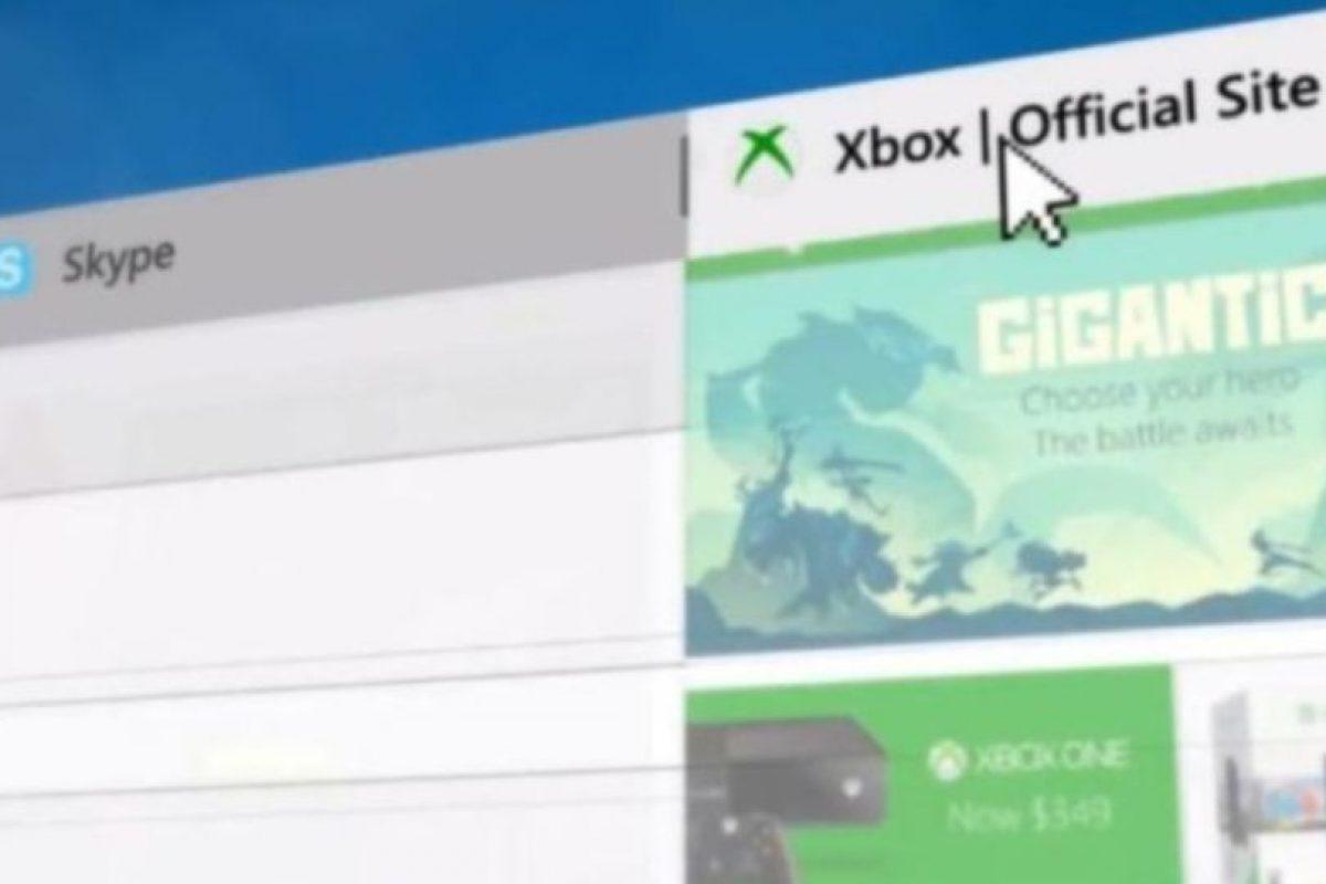 Se añadieron vistas de las páginas favoritas como una barra fija. Foto:Microsoft Windows. Imagen Por: