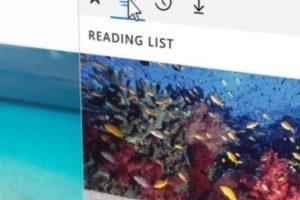 Además se incluyeron opciones como lista de lectura y descargas como un botón más. Foto:Microsoft Windows. Imagen Por: