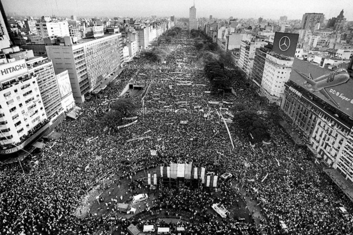 Hasta el 10 de diciembre de 1983, día que tomo posesión Raúl Alfonsín Foto:Wikimedia.org. Imagen Por: