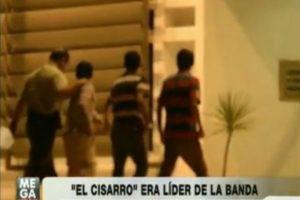 """""""El Cisarro"""", delincuente juvenil que ha sido detenido en reiteradas ocasiones por su participación en asaltos. Foto:Mega. Imagen Por:"""