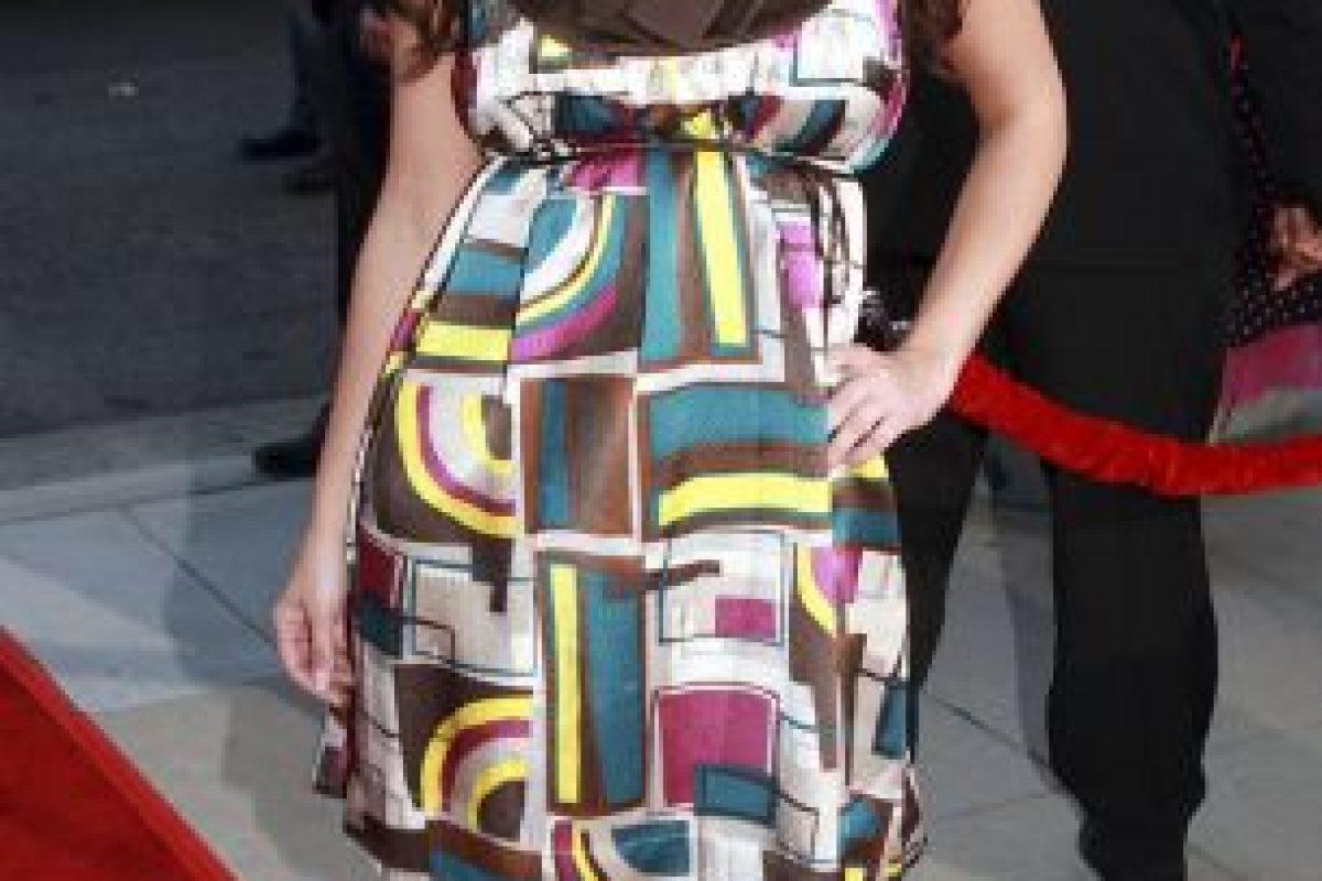 Y este vestido que parece de contrabando chino. Foto:vía Getty Images. Imagen Por: