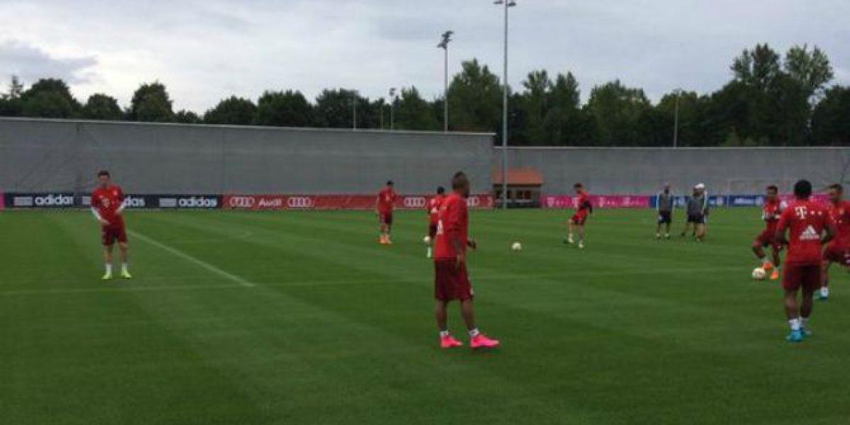 Arturo Vidal tuvo su primer entrenamiento en Bayern Munich