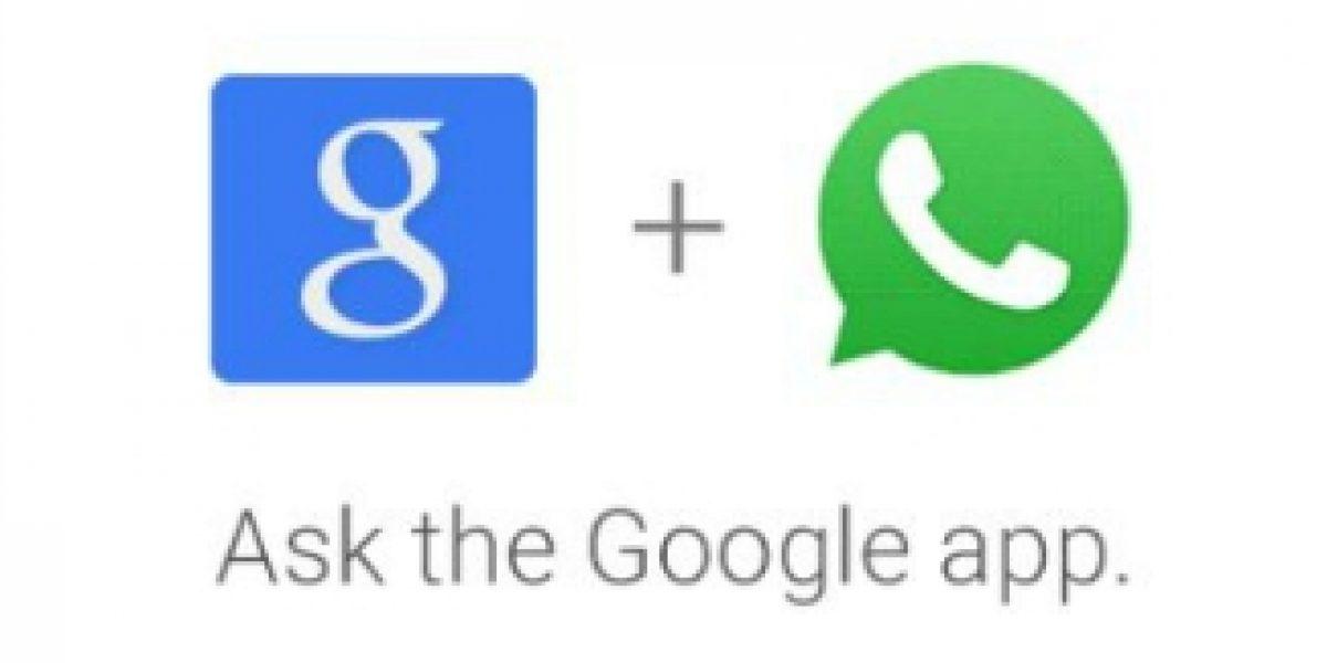 Ahora Google te ayuda a enviar mensajes en WhatsApp