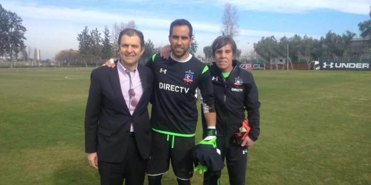 Claudio Bravo y su regreso al Monumental: