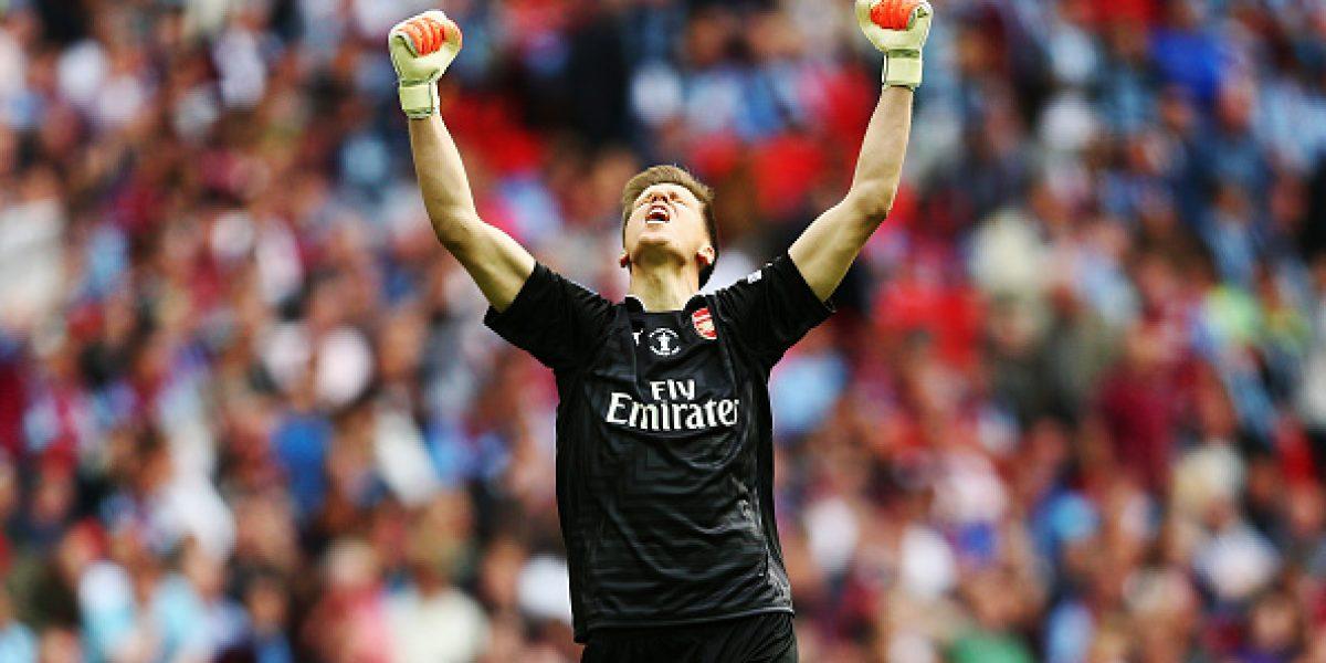 Arsenal deja partir a su portero, pero espera su retorno en el futuro