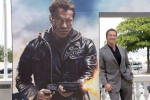 """Arnold Schwarzenegger, actor de cine y político, interpreta al """"Terminator"""", un ciborg asesino enviado a través del tiempo desde el año 2029 a 1984 para asesinar a ˝Sarah Connor"""" Foto:Getty Images. Imagen Por:"""