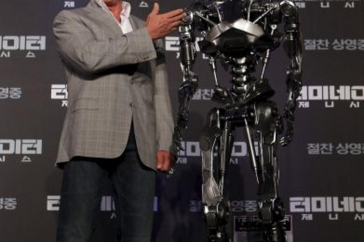 """Se han rodado cuatro secuelas: """"Terminator 2: el juicio final"""" (1991), """"Terminator 3: la rebelión de las máquinas"""" (2003), """"Terminator Salvation"""" (2009); y """"Terminator: Génesis"""" (2015) Foto:Getty Images. Imagen Por:"""