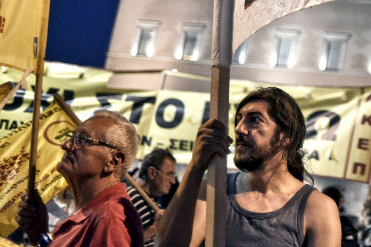Hubo manifestaciones a favor y en contra del acuerdo Foto:Getty Images. Imagen Por: