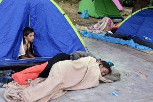 Los cuales duermen en las calles Foto:Getty Images. Imagen Por: