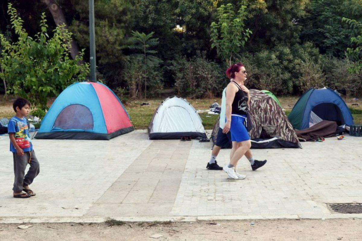 Aproximadamente 500 migrantes llegan día con día al país Foto:Getty Images. Imagen Por: