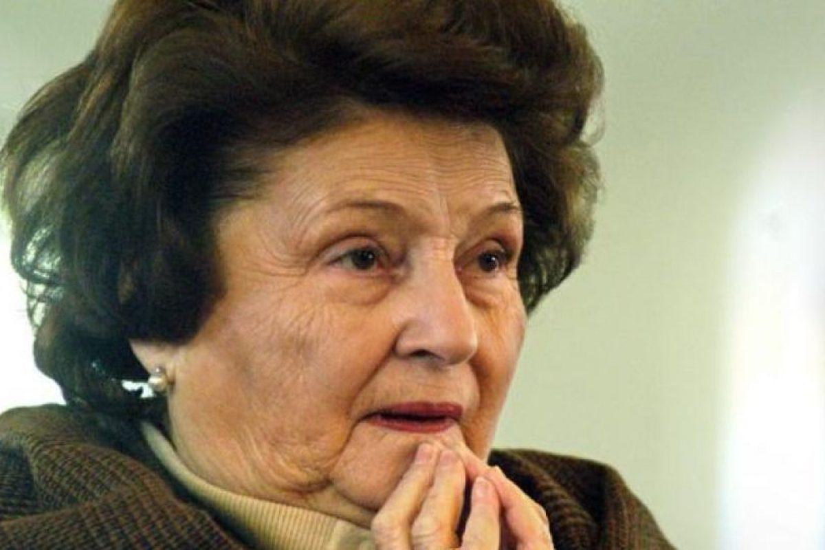 Lucía Hiriart de Pinochet Foto:Agencia Uno. Imagen Por: