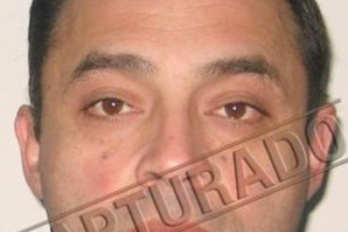"""""""El Palomo"""", uno de los integrantes de la banda de """"Los Fantasmas"""". Foto:Carabineros. Imagen Por:"""