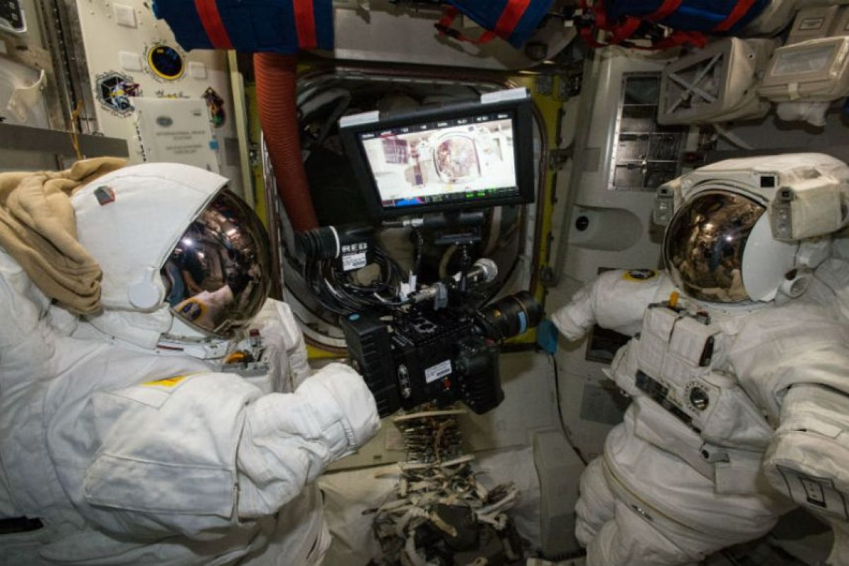 El video fue grabada con la nueva cámara de la Estación Espacial Internacional. Foto:Vía nasa.gov. Imagen Por: