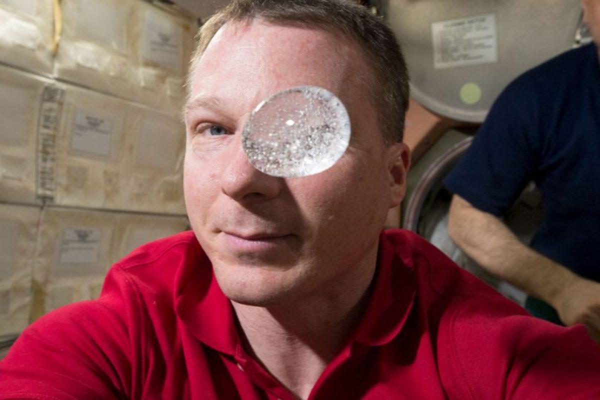 El astronauta Terry Virts fue quien realizó el experimento. Foto:Vía nasa.gov. Imagen Por: