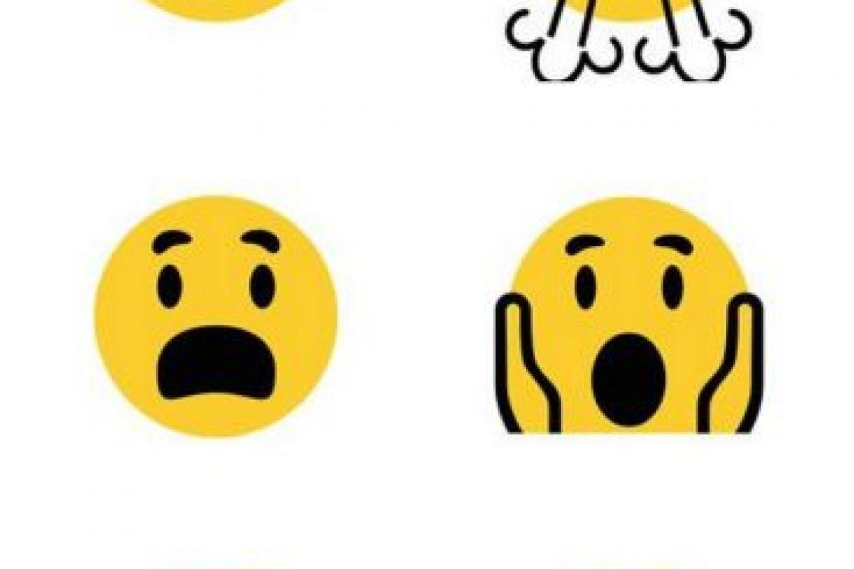 Los rostros solo cambiaron en su diseño Foto:Emojipedia. Imagen Por: